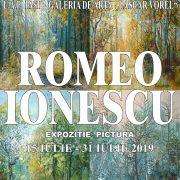 """Expoziţie Romeo Ionescu la Galeriile """"Lascăr Vorel"""""""