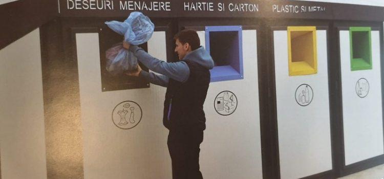 Piatra Neamţ: Aşa vor arăta noile puncte de colectare a deşeurilor!