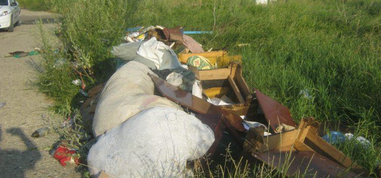 Piatra Neamţ: Poliţia Locală a depistat nesimţiţii din Speranţa. 1000 de lei pentru gunoaie aruncate aiurea