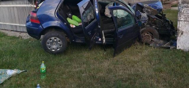 Accident cu 4 victime la Zăneşti