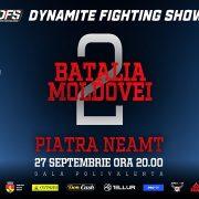 Piatra Neamţ: Dynamite Fighting Show începe astăzi, la Sala Polivalentă!