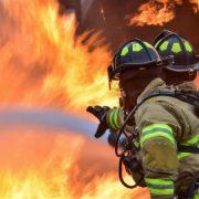 Neamţ: un incendiu care ameninţa pădurea, lichidat de pompieri