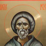 Astăzi, Sfântul canonizat la Neamţ: Gheorghe Pelerinul, în mâna căruia lumânarea s-a aprins singură la mormântul lui Isus