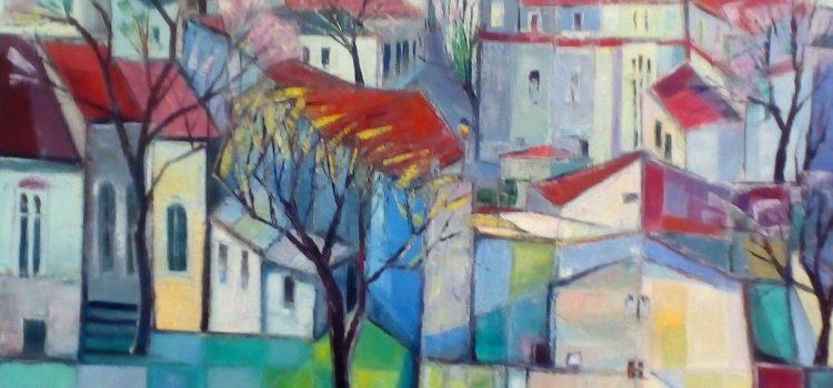 """Expoziție de pictură  MIRCEA TITUS ROMANESCU – """"Atelier 2019"""""""