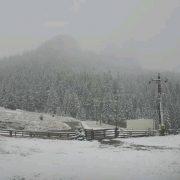 Ceahlăul, polul frigului în România