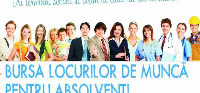 Neamț : Bursa Locurilor de Muncă pentru Absolvenți,  în 3 oraşe !
