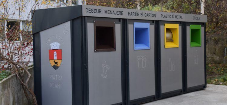 Piatra Neamţ: modificare substanţială în colectarea deşeurilor