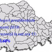 Alegeri prezidenţiale 2019 Neamţ:  0ra 11, în media ţării, 10,68!