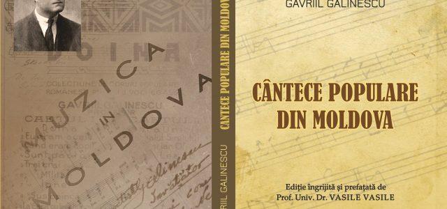 """Ziua Culturii Naţionale în Neamţ: """"Gavriil Galinescu – Cântece populare din Moldova"""""""