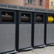 Piatra Neamţ: module noi de colectare a deşeurilor