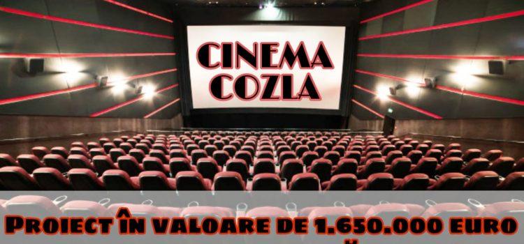 Cinematograful Cozla va fi  reabilitat și modernizat cu fonduri europene. Ce se face aici?