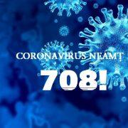 Coronavirus Neamţ: numărul infectaţilor, salt la 708! Sunt 73 de cazuri noi