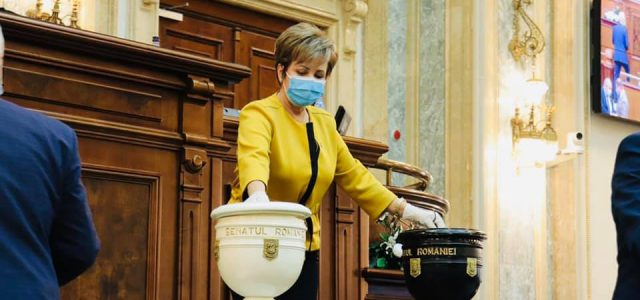 Senat: Emilia Arcan, vot împotriva ministrului care ne-a copleşit cu amenzi