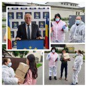 Primarul Dragoş Chitic: peste 1500 de pachete distribuite în perioada pandemiei