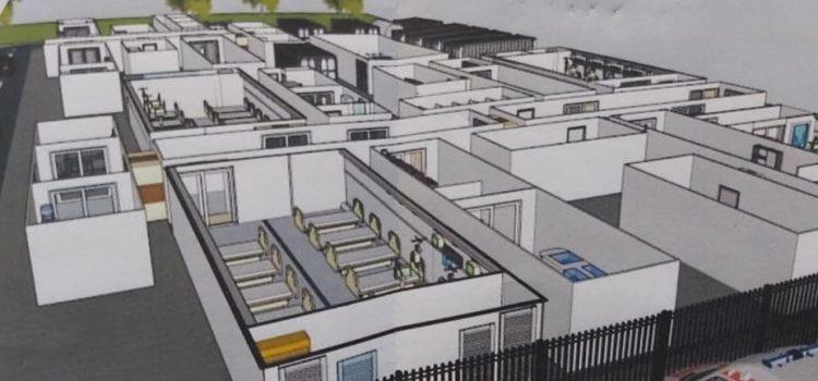 Arsene(CJ Neamţ): Spitalul mobil, în drum spre Leţcani! 250 de paturi, 100 la terapie intensivă