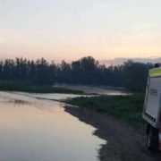 Căutare pe Siret: un bărbat a căzut în apă