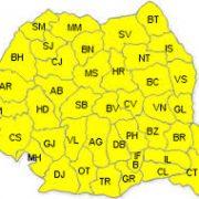 Trei zile de vreme urâtă în toată România