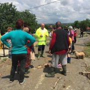 Piatra Neamţ- Văleni: primarul a fost în zonele inundate