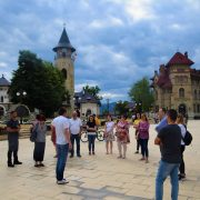 Piatra Neamţ: tur pietonal turistic în co-participare