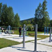 Piatra Neamţ: zone fitness amenajate de Primărie