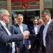 Mugur Cozmanciuc şi Eugen Ţapu deschid listele PNL Neamţ pentru Parlament
