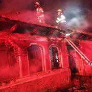 Incendiu în stațiunea Durău