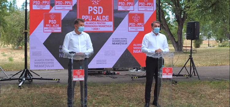 Roman: fostul primar liberal anunţă candidatura sub umbrela PSD-ALDE-PPU