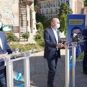 Mugur Cozmanciuc şi Rareş Bogdan, mesaje către Ionel Arsene. Conferinţă de presă
