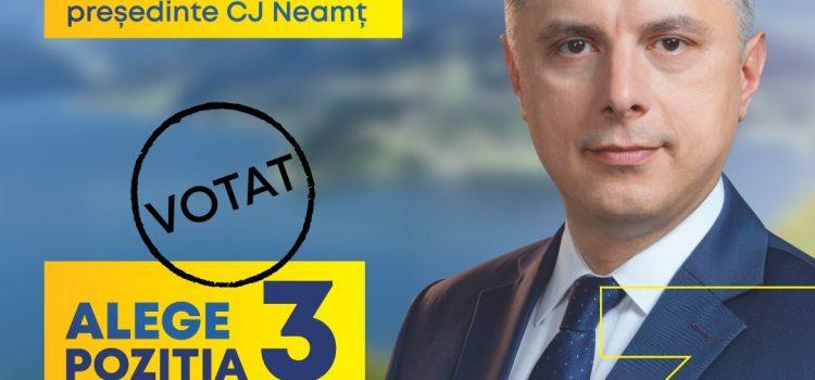 PNL: Lupta pentru președinția CJ Neamț – Candidatul PNL Mugur Cozmanciuc are un ușor avans în fața candidatului PSD Ionel Arsene