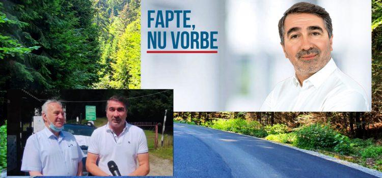 Ionel Arsene: Construim alte două drumuri judeţene, ca-n palmă!