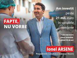 """Ionel Arsene: """"Nu am venit cu lozinci frumoase în fața dumneavoastră, ci cu fapte concrete!"""""""