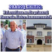 Mesajul primarului Dragoş Chitic către pietreni, la final de mandat