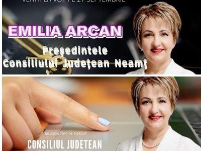 Emilia Arcan: Nu avem timp de pierdut!