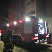 Un apartament din Bicaz a luat foc de la o lumânare