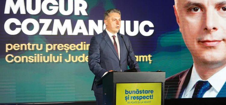 Mugur Cozmanciuc, președintele PNL Neamț: Racordarea clienților casnici la gaze este GRATUITĂ