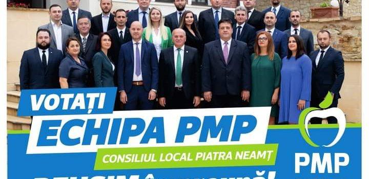 """Dragoş Chitic: """"Echipa PMP pentru Primăria Piatra Neamţ, garanţia că oraşul va deveni unul de 10+"""""""