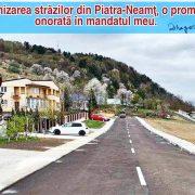 """Dragoş Chitic: """"Modernizarea străzilor din Piatra-Neamţ, o promisiune onorată în mandatul meu"""""""