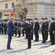 Pompier nemţean, onorat pentru fapte de eroism