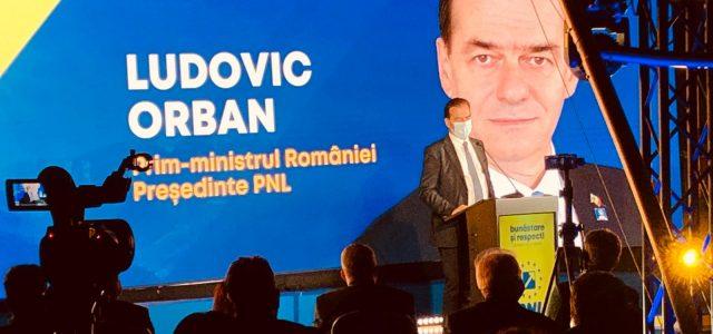 Orban la Neamţ: Pe 27 septembrie consfinţim sfârşitul erei PSD!