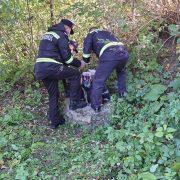 Pângăraţi: un bărbat a fost scos mort din fântână