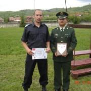 Jandarm nemţean instruit de chinezi în arte marţiale