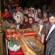 Procesiune la Piatra Neamţ în cinstea Sfântului Ioan Botezătorul