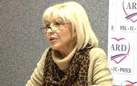 Luminiţa Vîrlan, candidatul PDL pentru euro-parlamentare