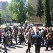 Săptămâna protestelor la Prefectură