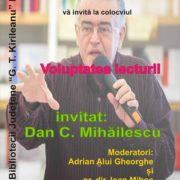 Dan C. Mihăilescu, invitat special al Zilelor Bibliotecii Neamţ