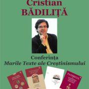 Marile texte ale Creştinismului cu Cristian Bădiliţă