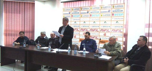 Fostul arbitru Ioan Costin Toma, reales în fruntea AJF Neamţ