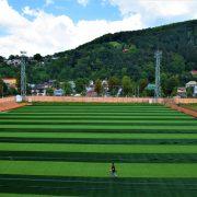 Echipă de Liga a IV-a, stadion european, gazon sintetic nou inaugurat sâmbătă