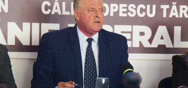 Prezidenţiale: Asaftei (ALDE) lansează candidatura lui Tăriceanu la Neamţ