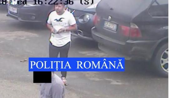 Uitaţi-vă la el! Mititelu' din imagine a furat un telefon mobil şi e căutat de Poliţie